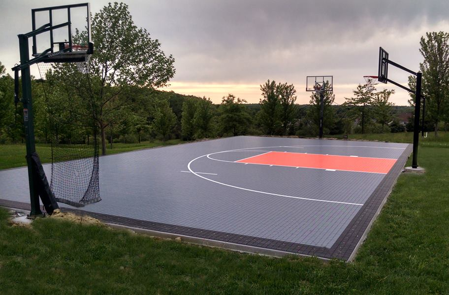 Premium Outdoor Sport Tiles Court Flooring