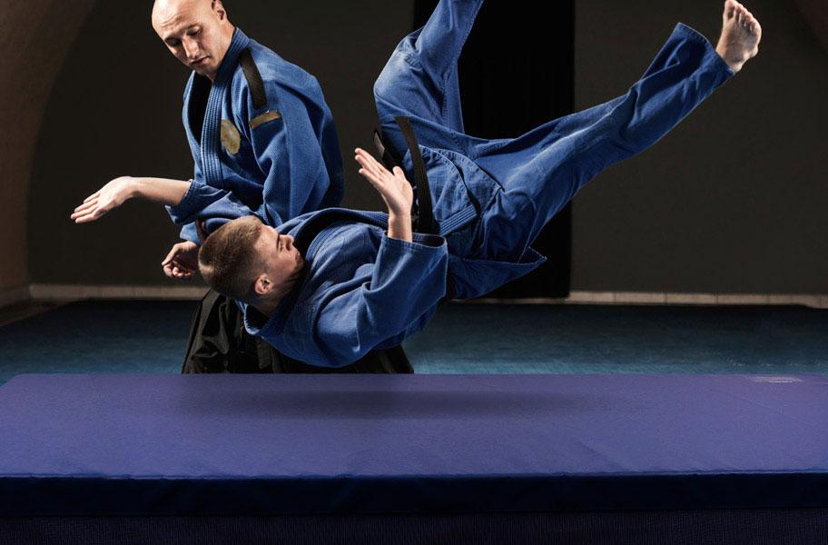 Landing Mats Shock Absorbing Gymnastic Crash Pad