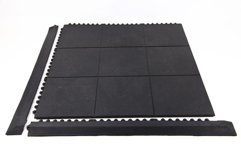 Evolution Rubber Tile Remnants Discount Non Porous Gym