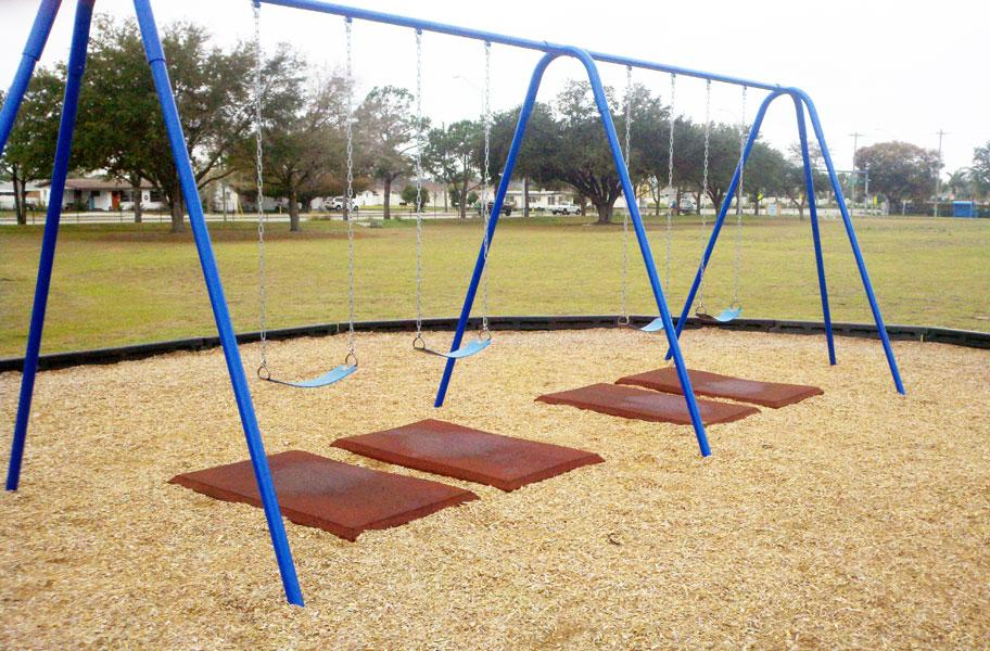 Swing Safety Mats Swing Set Rubber Protection Mats
