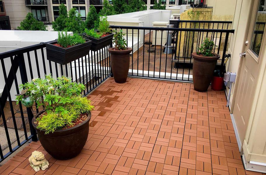 naturesort deck tiles 8 slat durable composite decking. Black Bedroom Furniture Sets. Home Design Ideas