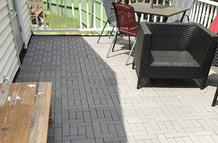 Naturesort Deck Tiles 6 Slat