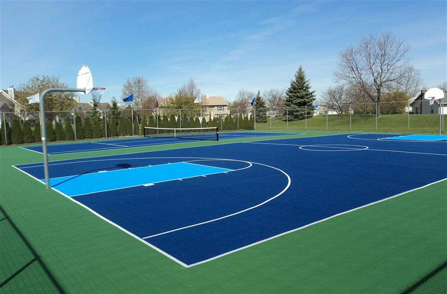 Mateflex Ii Comfortable And Durable Outdoor Tennis Court Floor