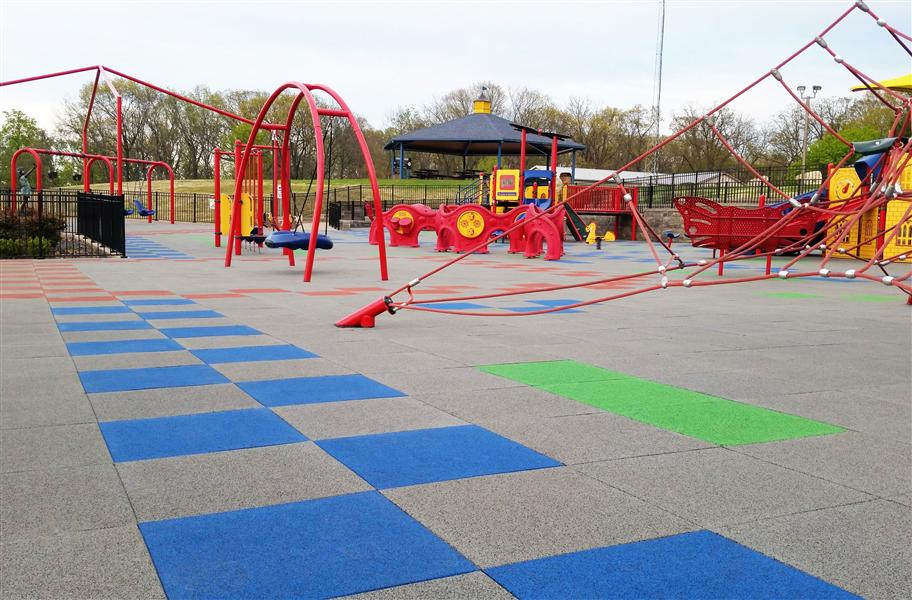Playground Flooring Rubber Tiles And Mulch For Playgrounds