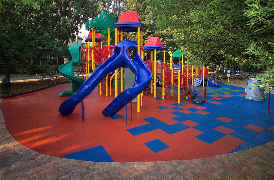 Playsafe Interlocking Playground Tiles Designer Series