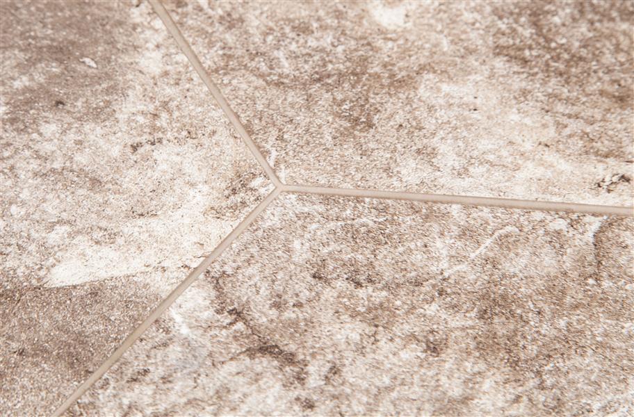 "shaw escape vinyl tiles - 10"" x 10"" hexagon shaped lvt"