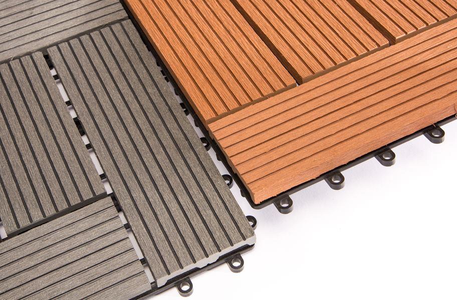 helios composite deck tiles 6 slat outdoor flooring. Black Bedroom Furniture Sets. Home Design Ideas