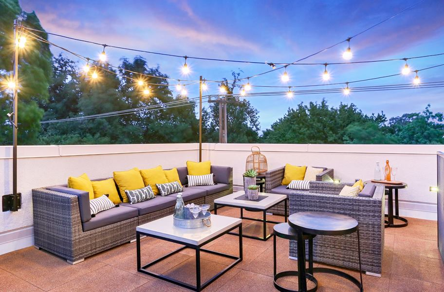 interlocking deck top roof tiles rh rubberflooringinc com top roof design kft rooftop plan design