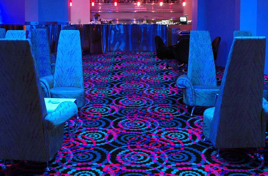 Joy Carpets Neon Lights Carpet - Dottie