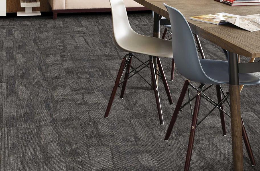 Carpet Tiles; Shaw Chiseled. Shaw Chiseled