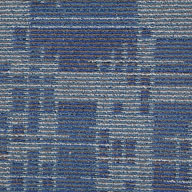 Blue StreamSet In Motion Carpet Tile