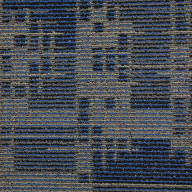 Indigo BatikSet In Motion Carpet Tile