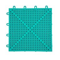 Teal Green Soft Flex Tiles