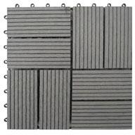 Grey Naturesort Deck Tiles (8 Slat)