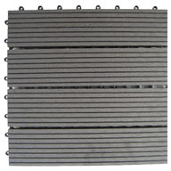 Grey Naturesort Deck Tiles (4 Slat)