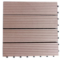 Walnut Brown Century Outdoor Living Deck Tiles