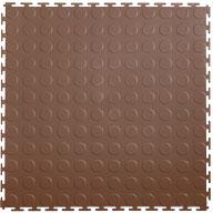 Brown 7mm Coin Flex Tiles