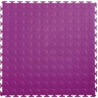 Purple 7mm Coin Flex Tiles