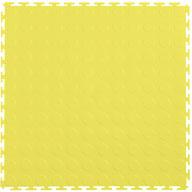 Yellow 7mm Coin Flex Tiles