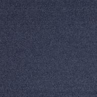 Blue Premium Ribbed Carpet Tiles