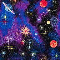 Space ExplorerJoy Carpets Neon Lights Carpet - Space Explorer