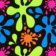 Splat Joy Carpets Neon Lights Carpet - Splat