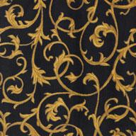 Black Joy Carpets Acanthus Carpet