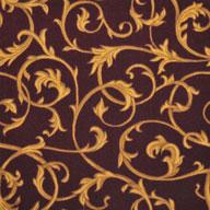 Burgundy Joy Carpets Acanthus Carpet