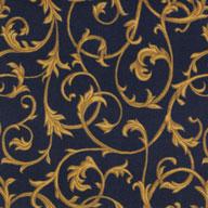 Navy Joy Carpets Acanthus Carpet