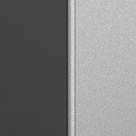 Matte Silver and Grey Ulti-MATE Garage Pro 1-Door Base Cabinet