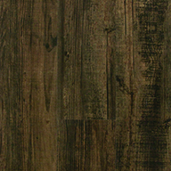 Black & Tan Tarkett Aloft Vinyl Planks