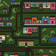 Green Joy Carpets Tiny Town Carpet