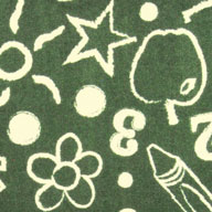 Green Joy Carpets Kid's Art Carpet