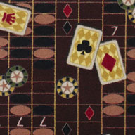 Burgundy Joy Carpets Feeling Lucky Carpet
