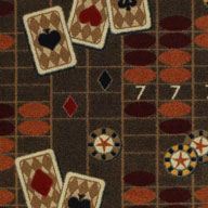 Chocolate  Joy Carpets Feeling Lucky Carpet