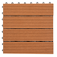 Red Helios Deck Tiles (4 Slat)