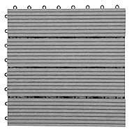 GrayHelios Deck Tiles (4 Slat)