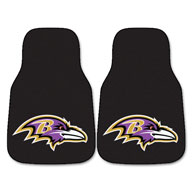 Baltimore RavensNFL Carpet Car Mats