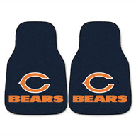 Chicago BearsNFL Carpet Car Mats