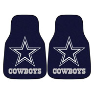 Dallas CowboysNFL Carpet Car Mats