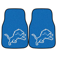 Detroit LionsNFL Carpet Car Mats