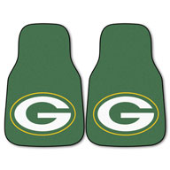 Green Bay PackersNFL Carpet Car Mats