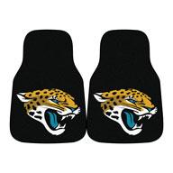 Jacksonville Jaguars NFL Carpet Car Mats