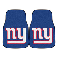 New York GiantsNFL Carpet Car Mats