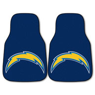 Los Angeles ChargersNFL Carpet Car Mats