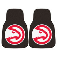 Atlanta Hawks NBA Carpet Car Mats