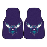 Charlotte Hornets NBA Carpet Car Mats