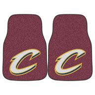 Cleveland Cavaliers NBA Carpet Car Mats