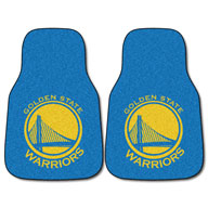 Golden State Warriors NBA Carpet Car Mats