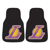 Los Angeles Lakers NBA Carpet Car Mats